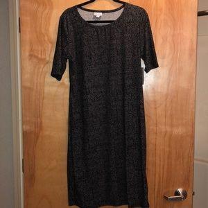 LuLaRoe Julia dress Sz. XL